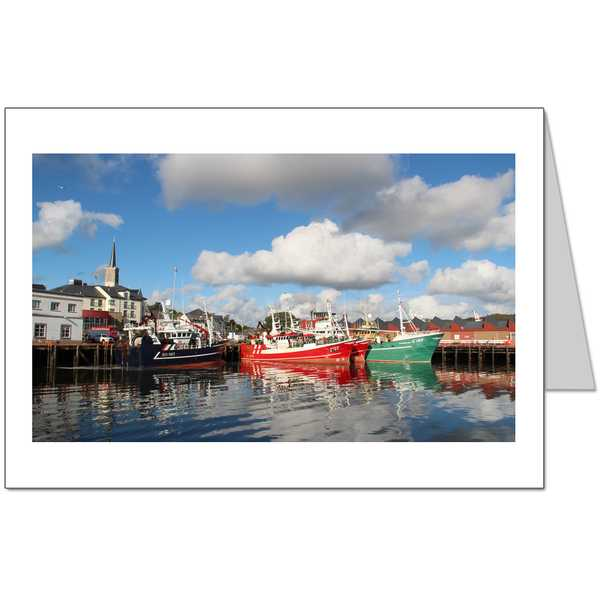 Killibegs Fishing Boats Card
