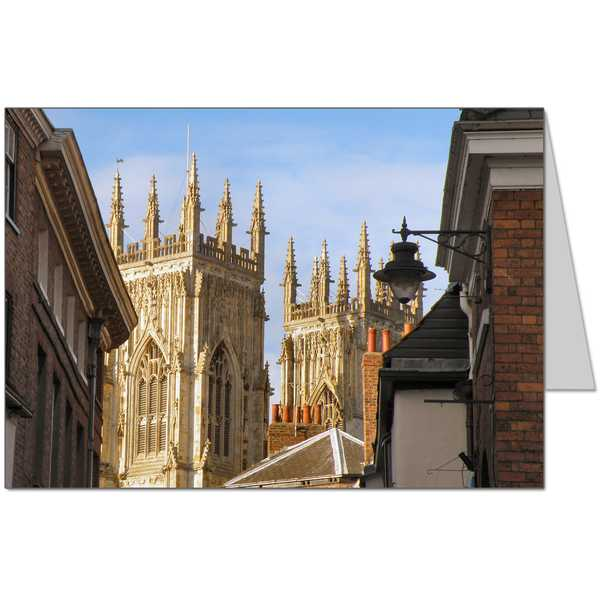 Petergate York Card