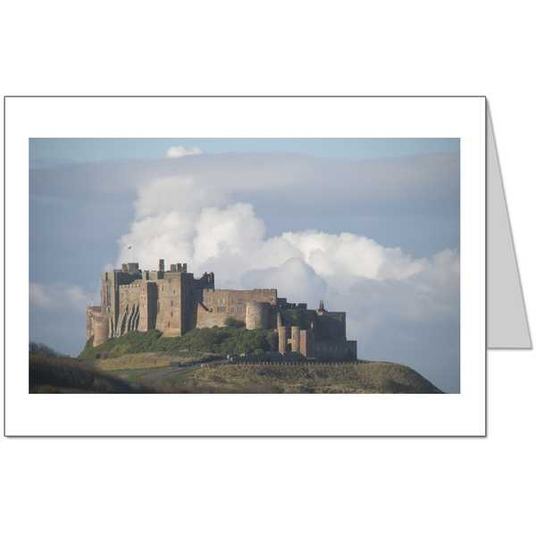 Bamburgh Castle 2 Card