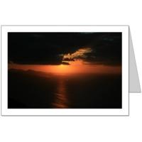 Dark Sunset Card