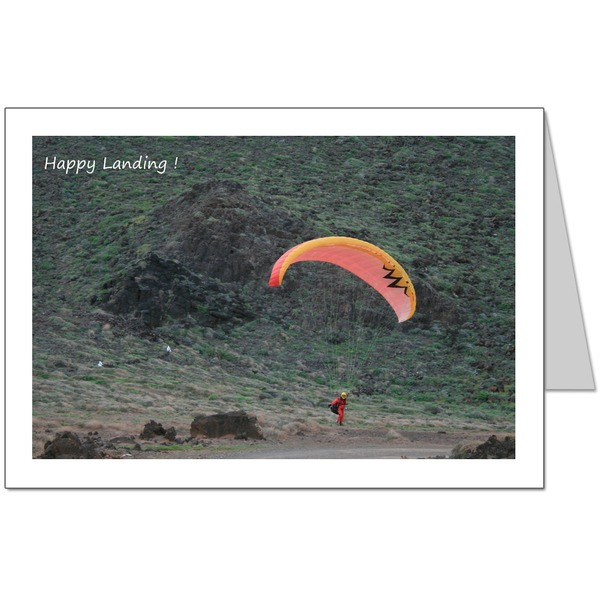 Happy Landing Card