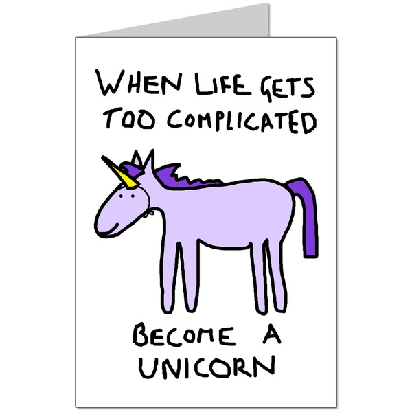 Become A Unicorn Card