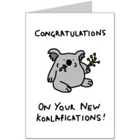 Koalafications Card
