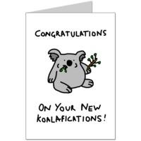 Koalafications Card
