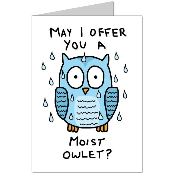 Moist Owlet Card