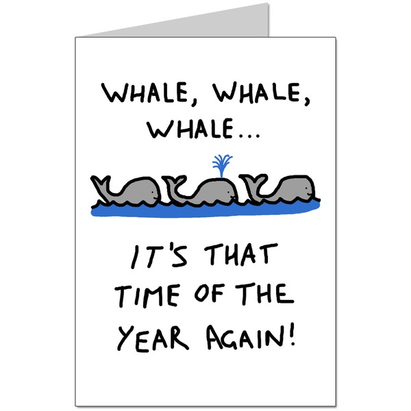 Three Whales Card