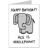Irrelephant Card