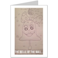 Belle of the ball Card