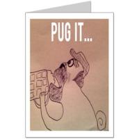 Pug it  Card