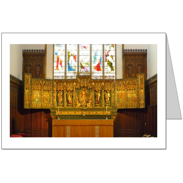 High Altar at St John's Parish Church, Peterborough Card