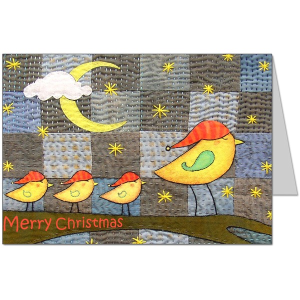 Christmas Birds Card