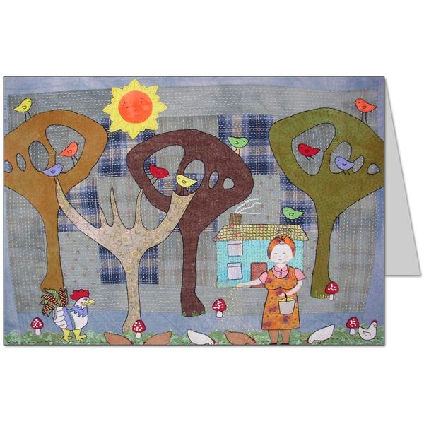 Nana's Garden Card