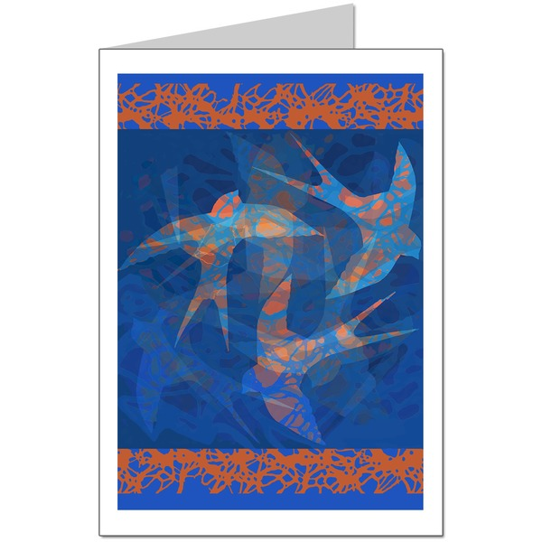 Bluebirds Card