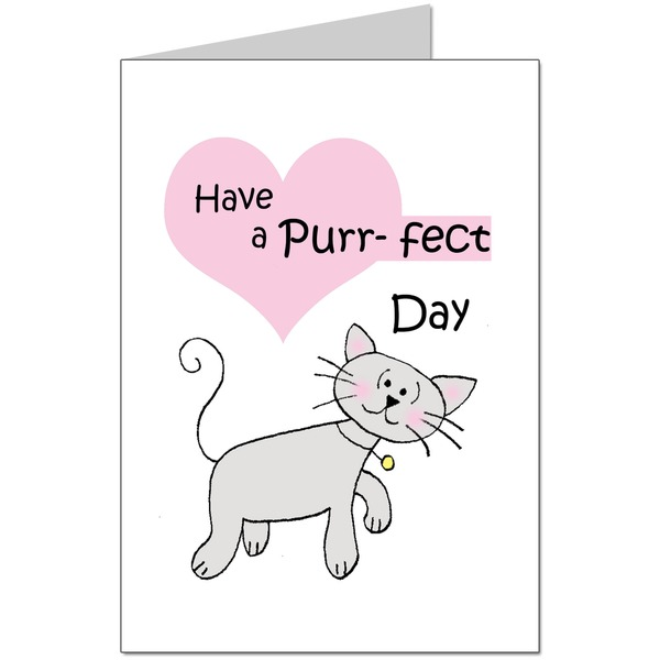 Have A Purrfect Day Card
