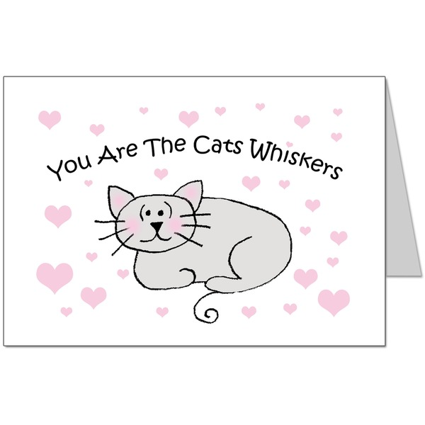 You Are The Cats Whiskers Card