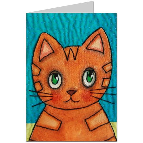 Naughty Kitten Card