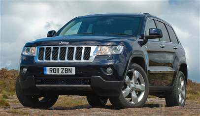 jeep grand cherokee 3.0 crd v6 overland 5dr pre-model car review