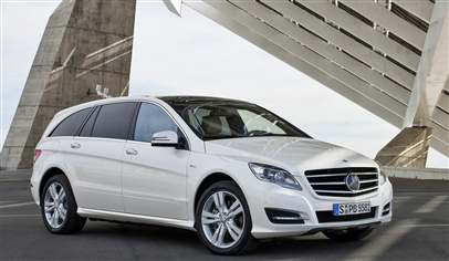 Mercedes family car