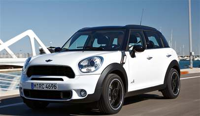 Mini Countryman One D 5dr Car Review March 2012