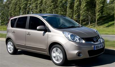 Nissan NOTE 1.4 Visia 5dr Car Review - March 2012