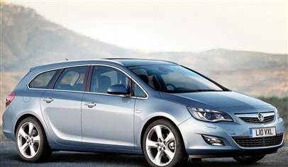 Vauxhall Astra Sports Tourer Exclusiv 1.7 CDTi 16v (125ps) EcoFLEX 5dr Car  Review   March 2012
