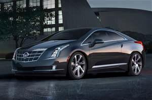 Cadillac ELR hybrid unveiled