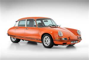 Porsche 911 meets Citroen DS
