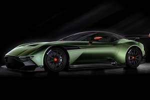 Aston Martin to unveil Vulcan