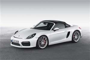 New Porsche Boxster Spyder