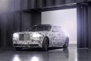 Rolls Royce space-frame tech