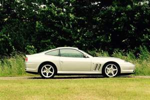 Geoff Hurst's Ferrari