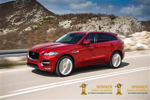 Double award for F-PACE