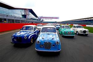 Star-studded Silverstone race