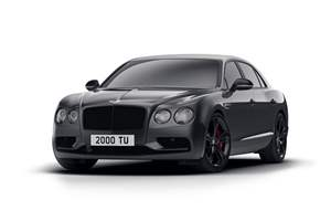 New special edition Bentley