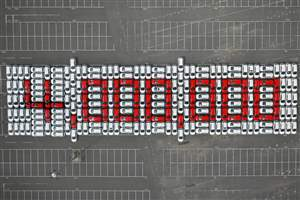 Four millionth Astra