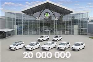 Skoda passes 20 million mark