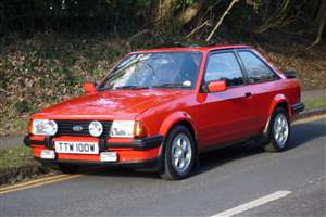 Escort XR3i in auction