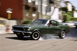 Bullitt Mustang at Goodwood