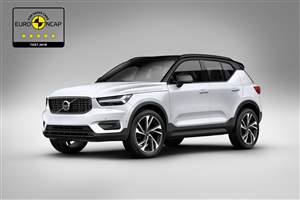 XC40: Top safety marks