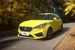 New MG3 unveiled