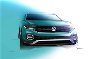 VW T-Cross sketch