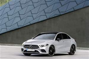 New A-Class saloon