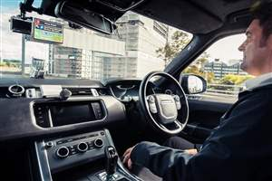 JLR's self-driving