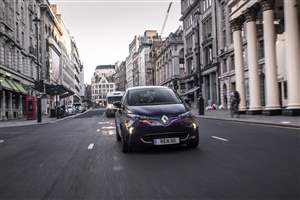 Renault to electrify Regent St