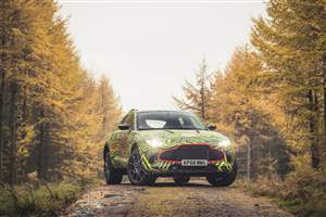 New Aston Martin SUV