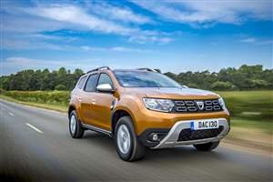 New engines for Dacia Duster