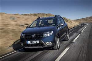 New Sandero Stepway options