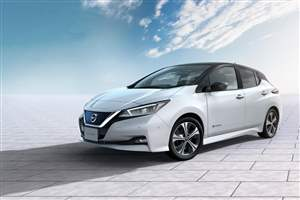 LEAF sets EV sales benchmark
