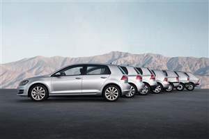 VW Golf turns 45