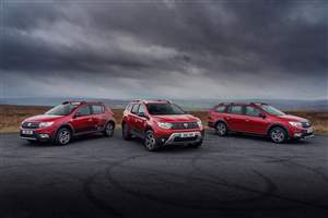 New Dacia Techroad models